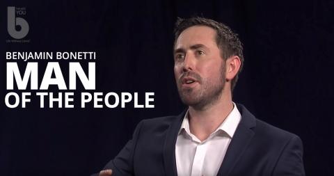 Man of the people – Benjamin Bonetti