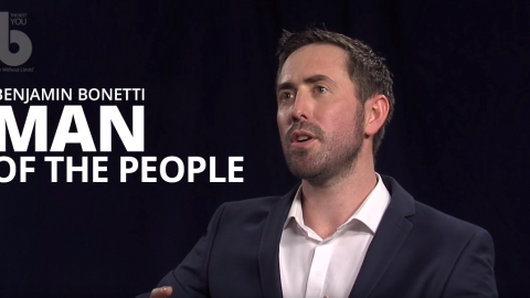 Man of the people – Benjamin Bonetti