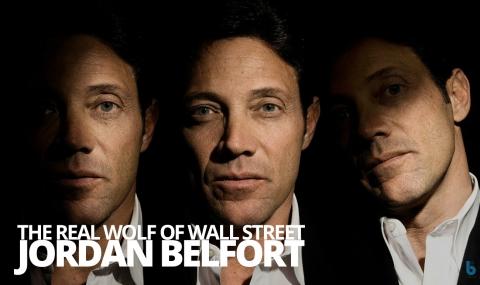 The real Wolf of Wall Street – Jordan Belfort