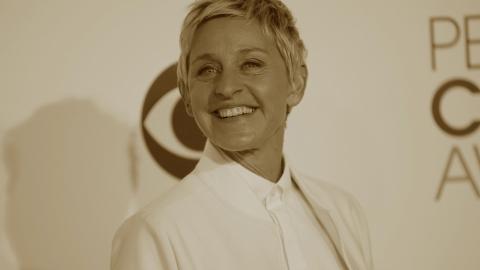 Ellen DeGeneres: funny on the up