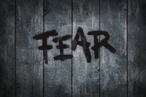 Gently Lean Into Fear by Sandra Pawula