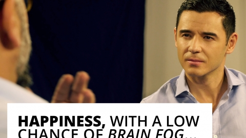 Dr Mike Dow: Happiness, with a low chance of brain fog… by Bernardo Moya