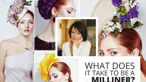 What does it take to be a … milliner? Rachel Trevor-Morgan