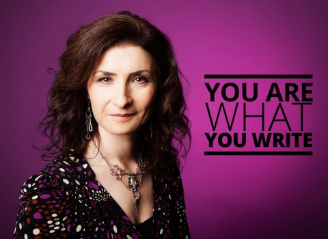 You are what you write by Julia McCutchen