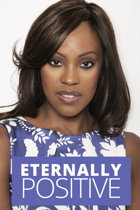 Eternally positive – Kelle Bryan