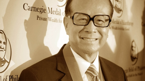 Li Ka-Shing:  Learning from a long shot