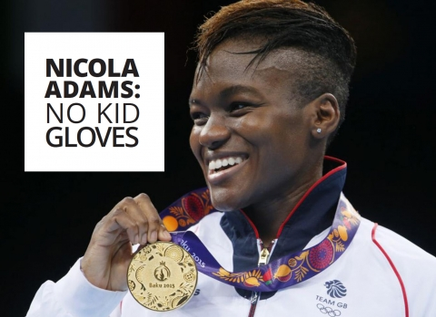 Nicola Adams: No kid gloves