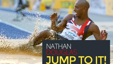 Nathan Douglas: Jump to it! by Bernardo Moya
