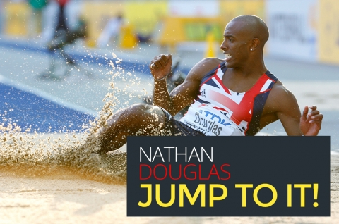 Nathan Douglas: Jump to it! by Bernardo Moya