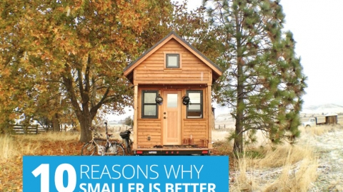 10 Reasons Why Smaller Is Better by Tammy Strobel