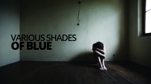 Various shades of blue by Beth Murphy