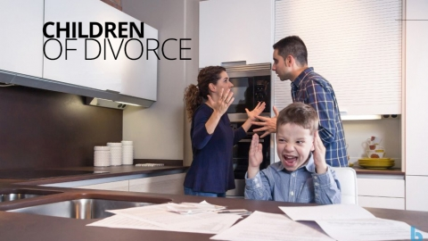 Children of Divorce by Janet Murray