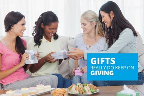 Gifts really do keep on giving by Bernardo Moya
