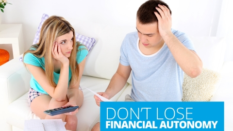Don't lose financial autonomy by Ryan Eidson