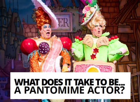 What does it take to be a… pantomime actor? by Matthew Kelly