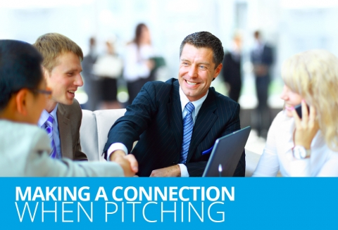 Making A Connection When Pitching