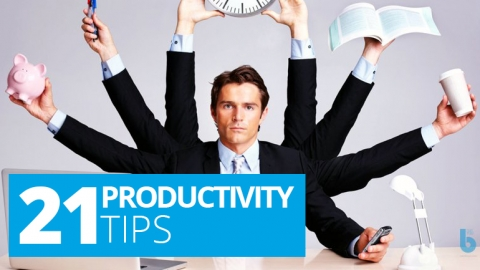 21 Productivity Tips by Robin Sharma