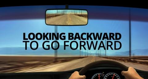 Looking Backward To Go Forward by Matt Wingett