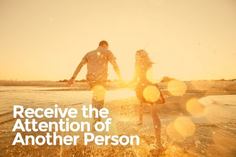 Receive the Attention of Another Person by Kaitlyn Mirison