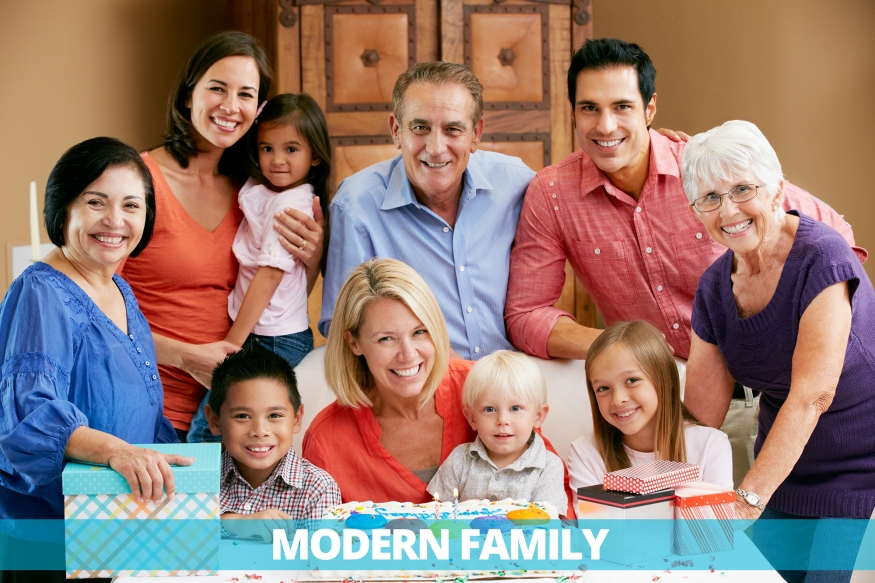 nuclear family examples