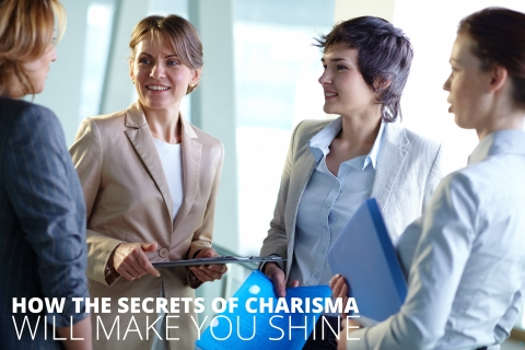 How The Secrets Of Charisma Will Make You Shine by Nikki Owen