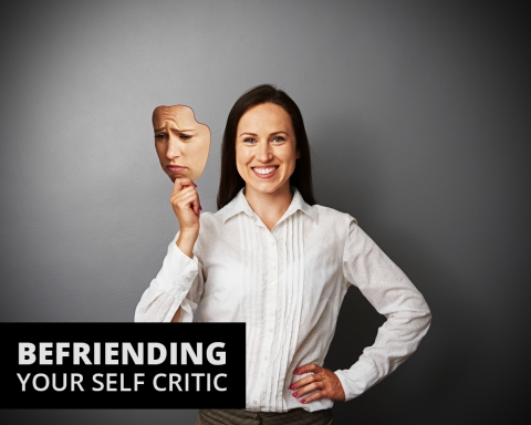 Befriending your self critic by Graeme Armstrong