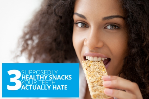 3 Supposedly Healthy Snacks Your Teeth Actually Hate by Henry Clover