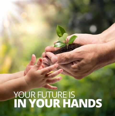 Your future is in your hands by Geoff Rolls