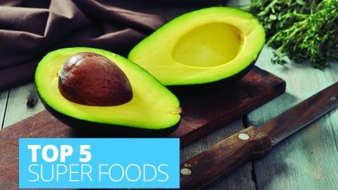 Top five super foods by Angela Steel