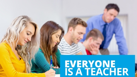 Everyone is a teacher by Jack Canfield