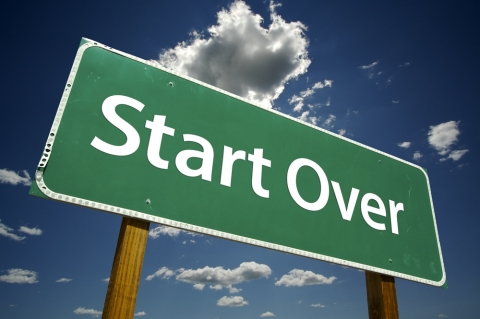 Stuck in a rut? Start over! by Courtney Carver