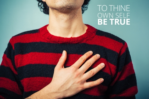 To thine own self be true by Anne Mulliner