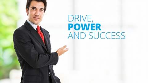 Drive, power and success by Geoff Edwards