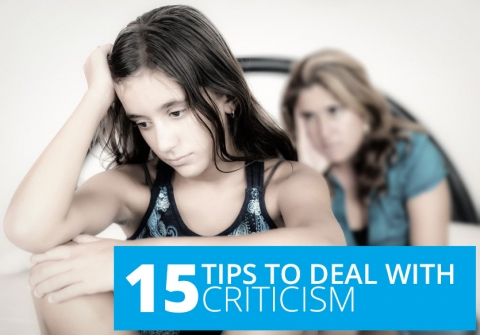 15 tips to deal with criticism by Lori Deschene