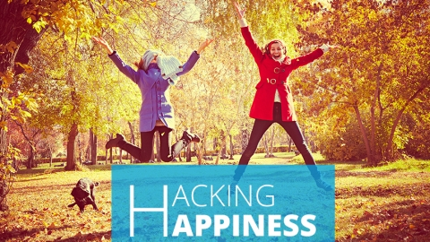 Hacking happiness by Sebastian Nienaber