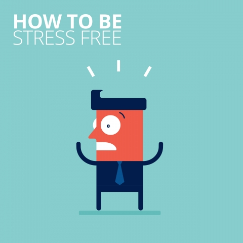 How to be stress-free by Charlotte Watts