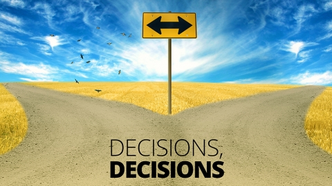 Decisions, decisions… by Jim Aitkins