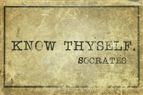 """""""Know thyself"""" by Jo Ritchie"""