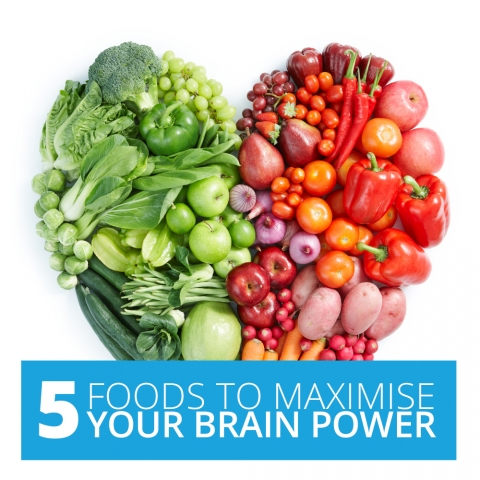 5 Foods To Maximise Your Brain Power