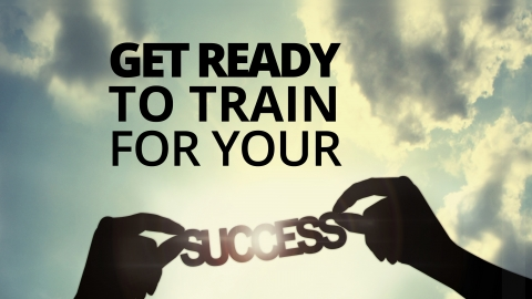 Get ready to train for your success by Bernardo Moya