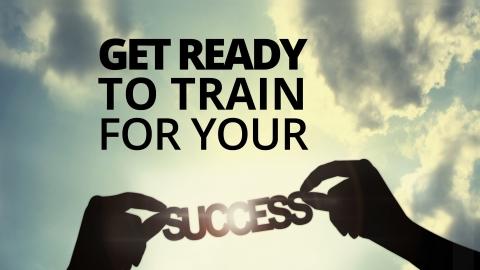 Get ready to train for your success by Bernardo Moya