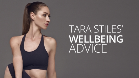 Tara Stiles' wellbeing advice