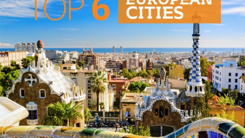 Top 6 European cities by The Best You