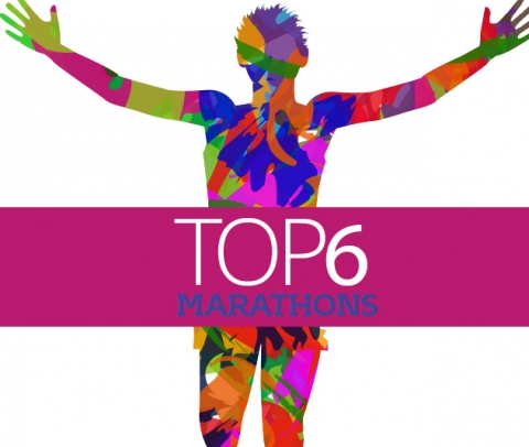 Top 6 marathons