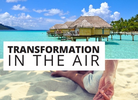Transformation in the air by Ali Bastian